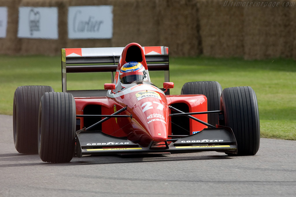 Ferrari F93A    - 2008 Goodwood Festival of Speed
