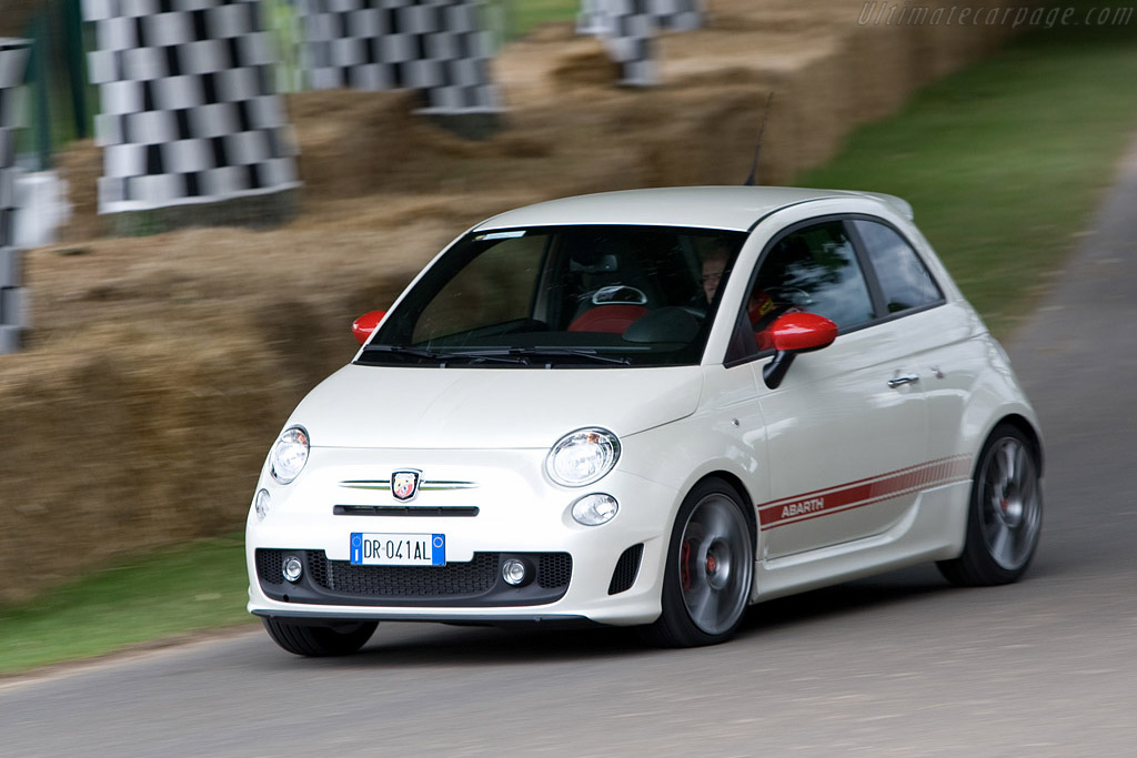 Fiat Abarth 500    - 2008 Goodwood Festival of Speed