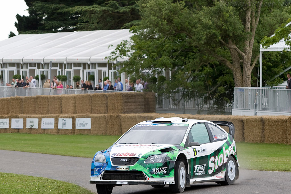 Ford Focus WRC 2007    - 2008 Goodwood Festival of Speed