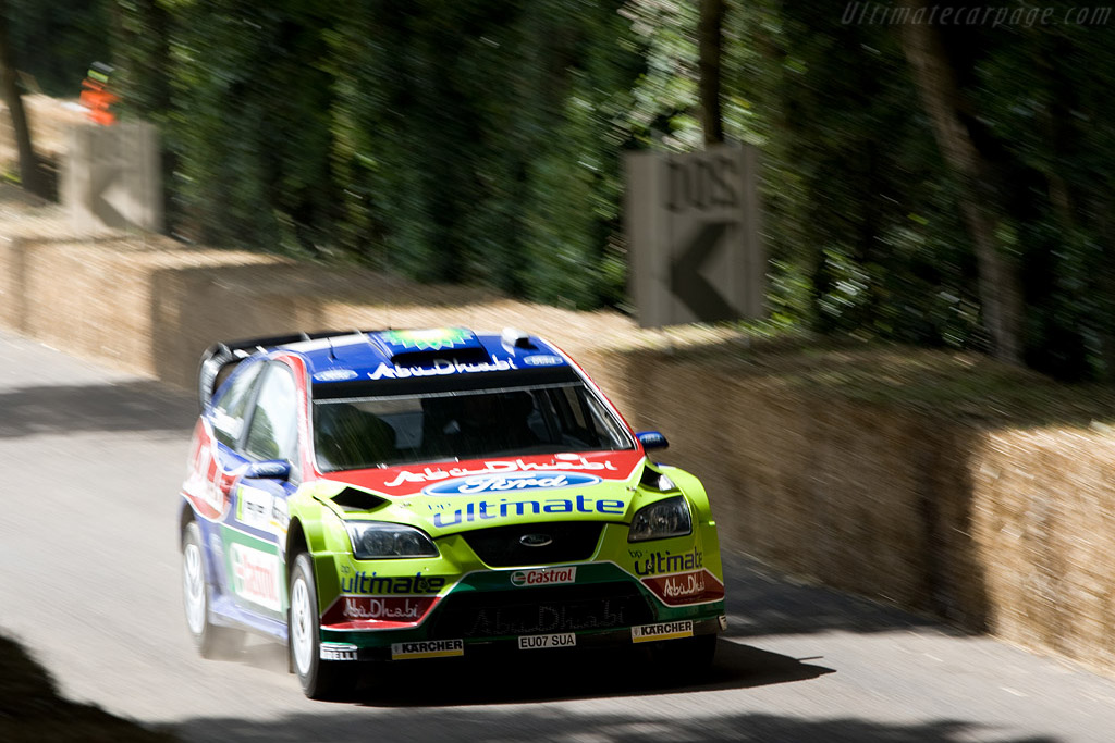 Ford Focus WRC 2008    - 2008 Goodwood Festival of Speed