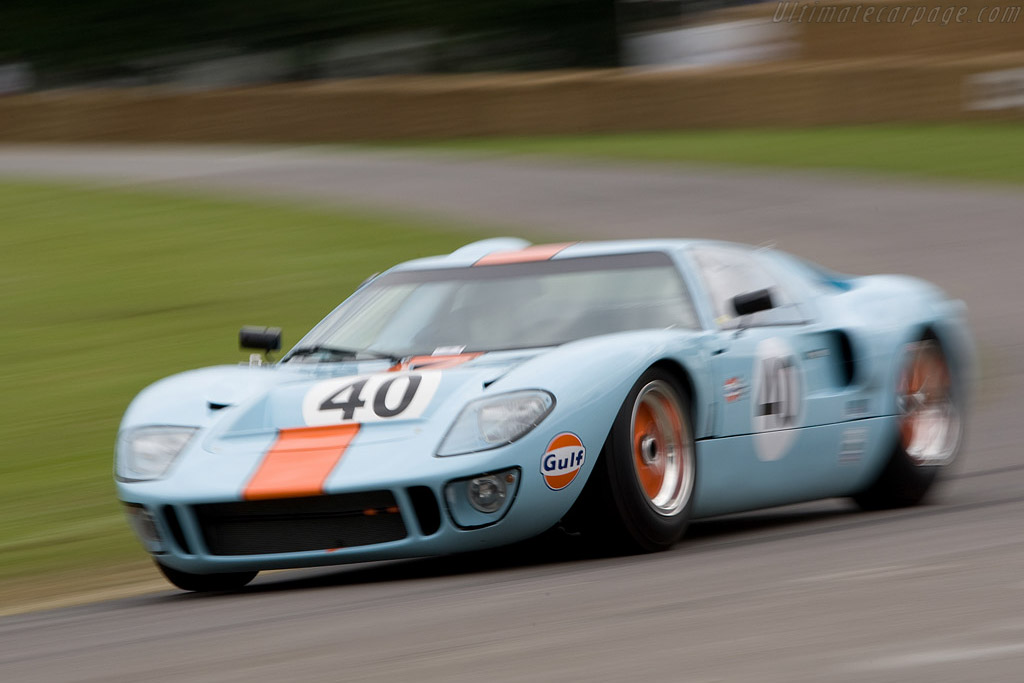 Ford GT40 - Chassis: GT40P/1084   - 2008 Goodwood Festival of Speed