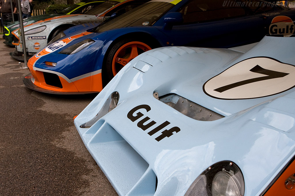 Gulf-Mirage GR7 - Chassis: GR7/701 - Entrant: Marc Devis - Driver: Derek Bell  - 2008 Goodwood Festival of Speed