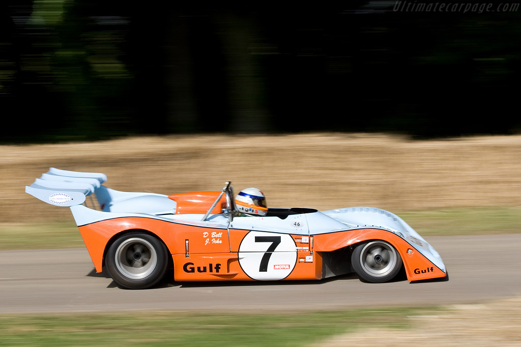 Gulf-Mirage GR7 - Chassis: GR7/701 - Entrant: Marc Devis  - 2008 Goodwood Festival of Speed