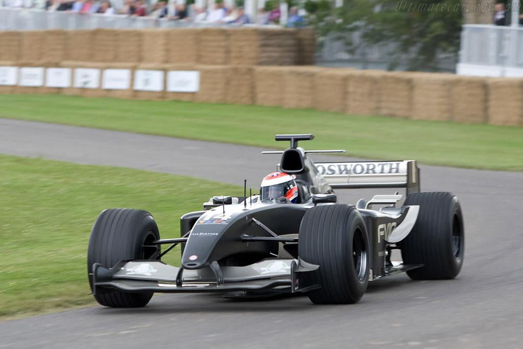 Jaguar R5 Cosworth    - 2008 Goodwood Festival of Speed