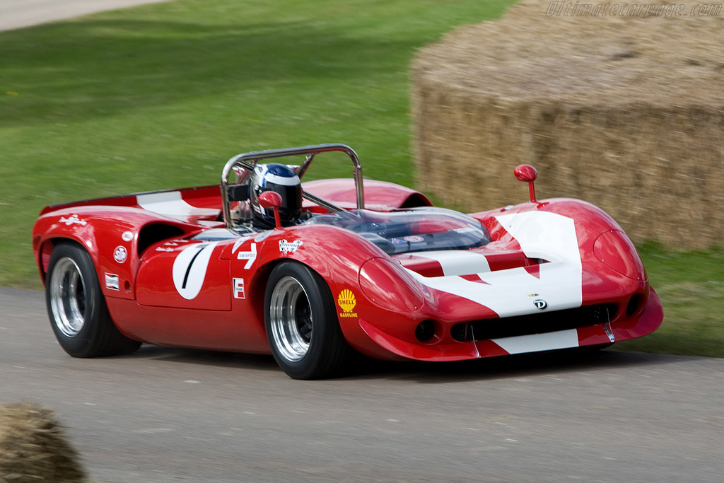 Lola T70 Mk3B Chevrolet - Chassis: SL75/123   - 2008 Goodwood Festival of Speed