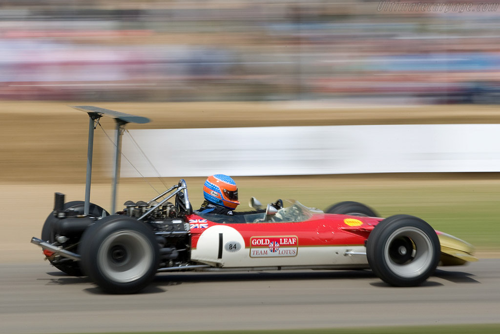 Lotus 49B Cosworth - Chassis: R10   - 2008 Goodwood Festival of Speed