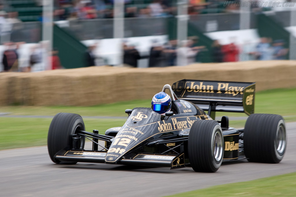 Lotus 98T Renault - Chassis: 98T - 4 - Driver: Gary Ward  - 2008 Goodwood Festival of Speed