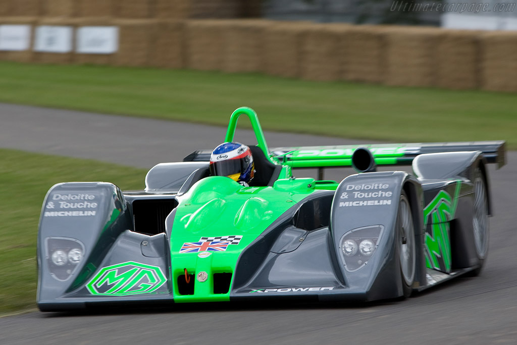 MG-Lola EX257 - Chassis: HU MG LMP 001   - 2008 Goodwood Festival of Speed