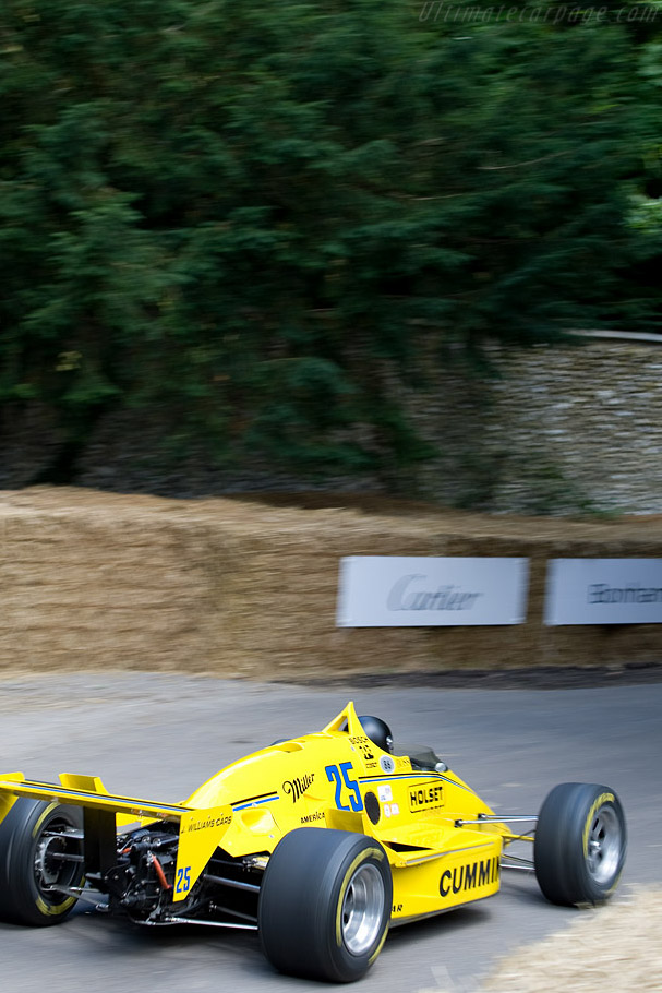 March 86C Cosworth - Chassis: 86C-22 - Driver: Tom Sneva  - 2008 Goodwood Festival of Speed