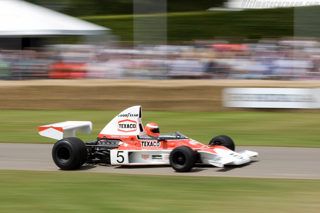 McLaren M23 Cosworth - Chassis: M23-5   - 2008 Goodwood Festival of Speed