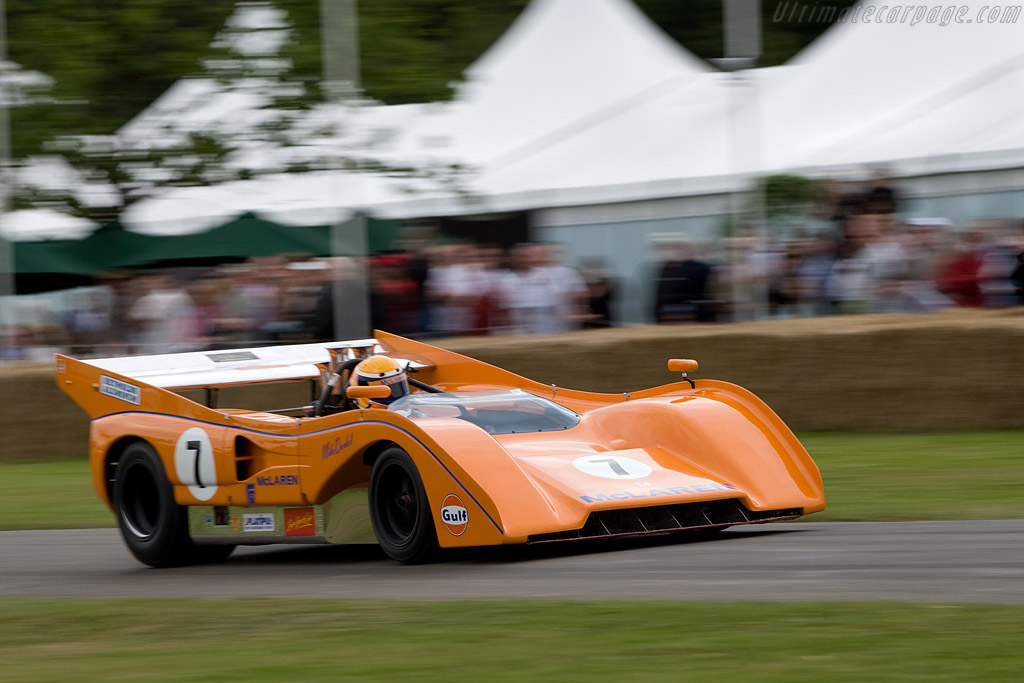 McLaren M8FP Chevrolet - Chassis: 10-72   - 2008 Goodwood Festival of Speed
