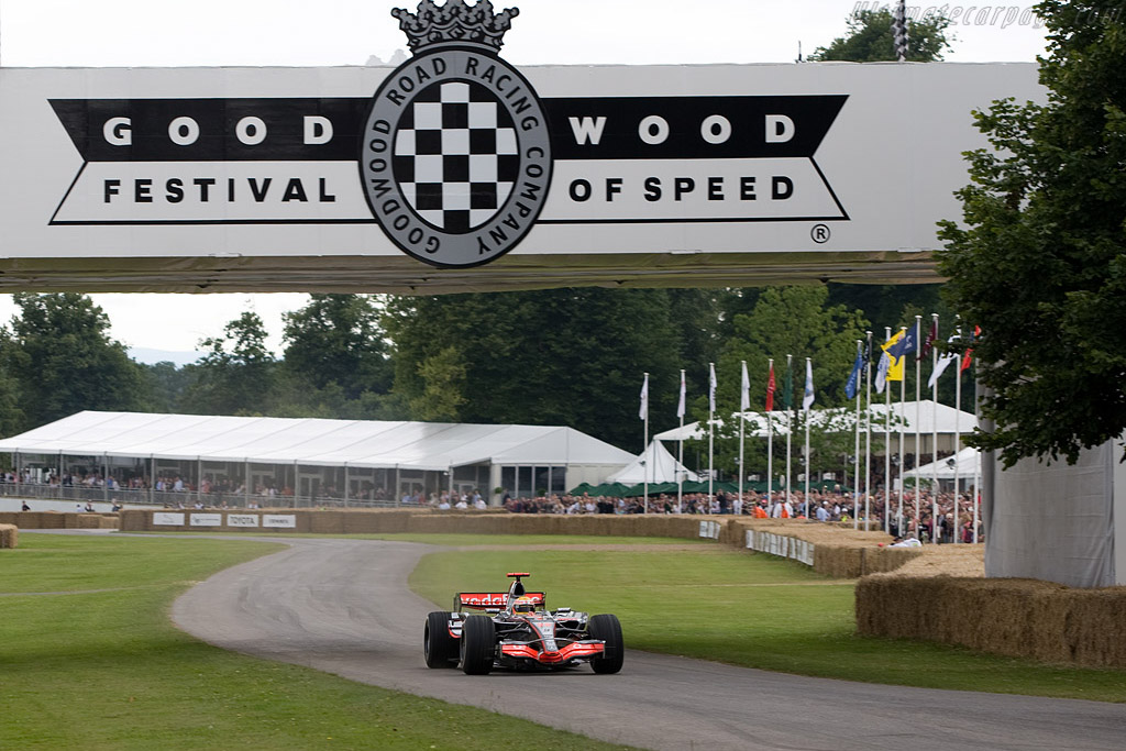 McLaren MP4/22 Mercedes    - 2008 Goodwood Festival of Speed