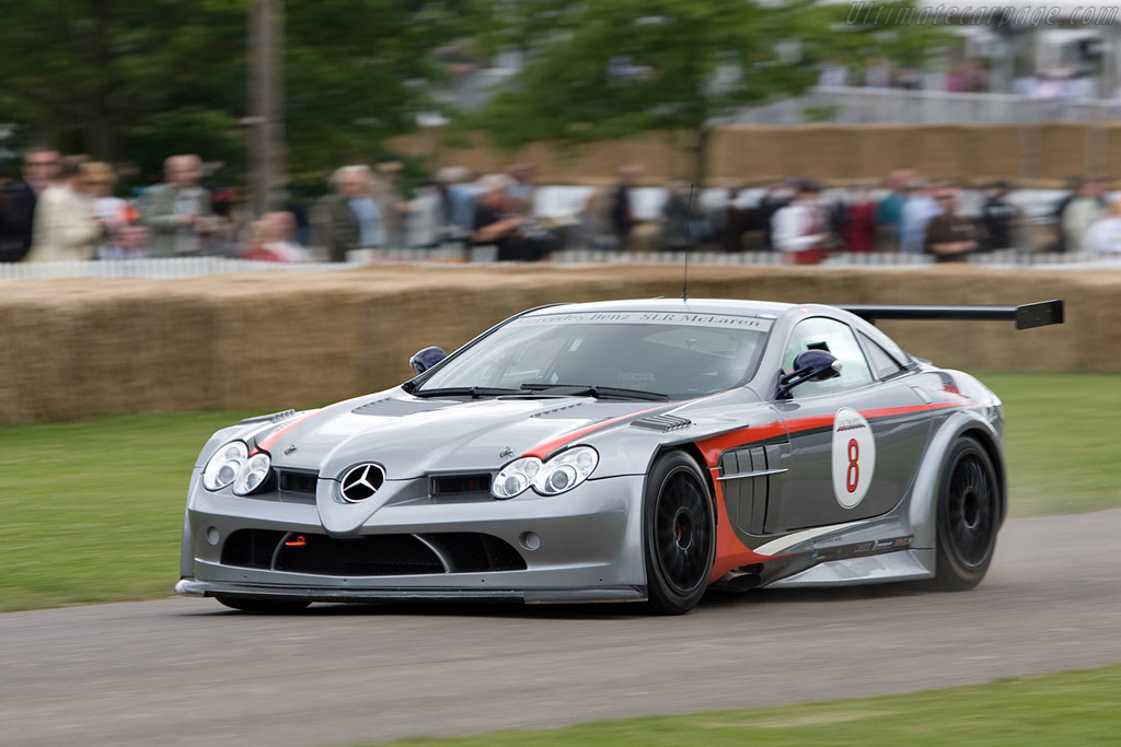 Mercedes Benz SLR McLaren 722 GT    - 2008 Goodwood Festival of Speed