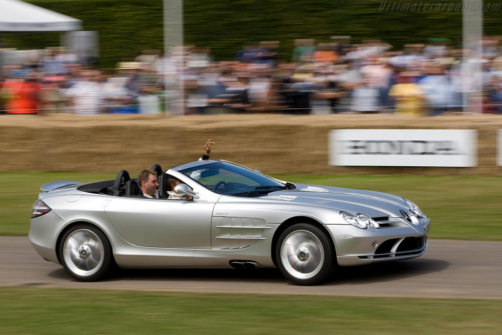 Mercedes Benz SLR McLaren Roadster    - 2008 Goodwood Festival of Speed