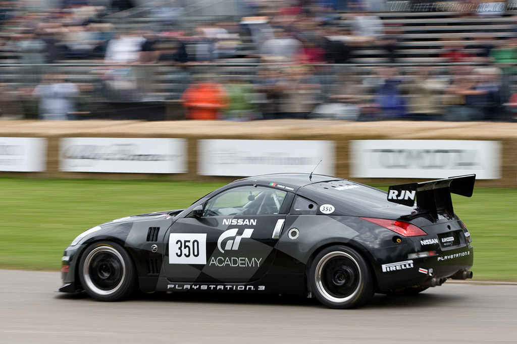 Nissan 350Z GT4    - 2008 Goodwood Festival of Speed