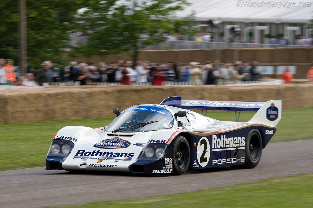 Porsche 956 - Chassis: 956-008   - 2008 Goodwood Festival of Speed