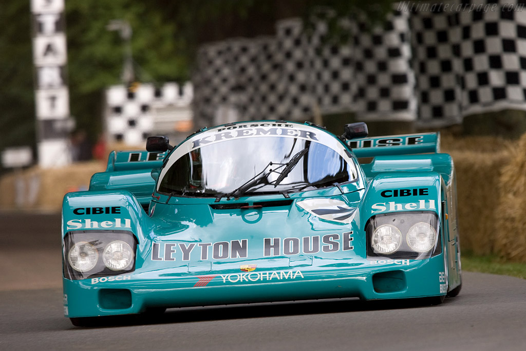 Porsche 962C - Chassis: CK6-87   - 2008 Goodwood Festival of Speed