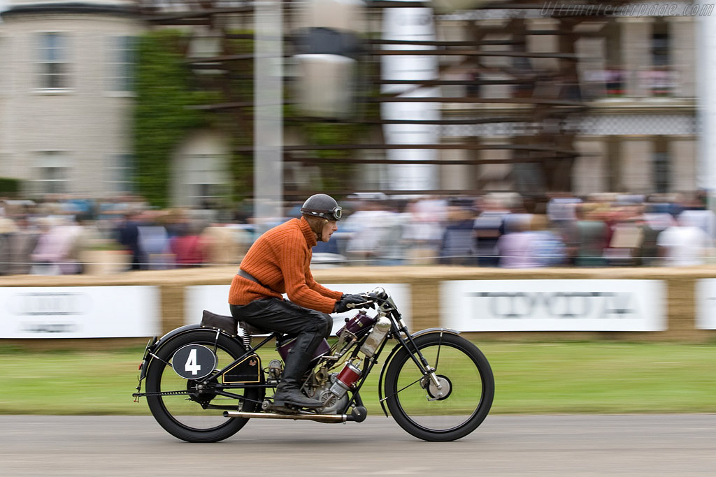 Scott Flying Squirrel    - 2008 Goodwood Festival of Speed