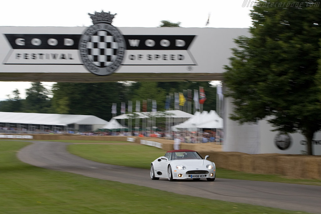 Spyker C8 Spyder    - 2008 Goodwood Festival of Speed