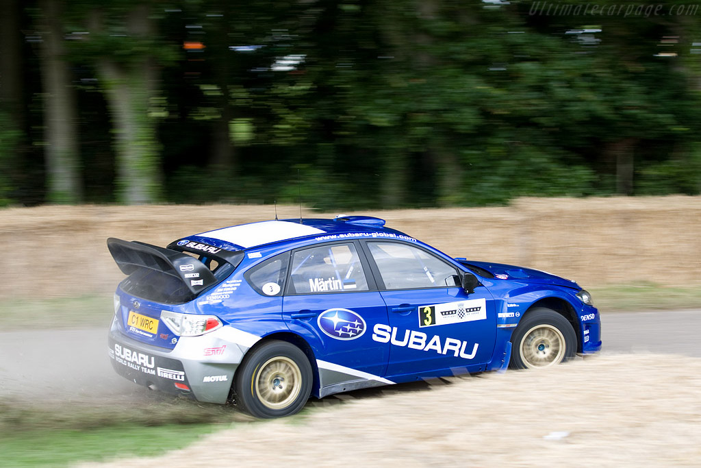 Subaru Impreza WRC2008    - 2008 Goodwood Festival of Speed