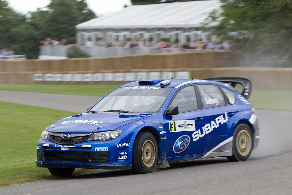Subaru Impreza WRC2008    - 2008 Goodwood Festival of Speed