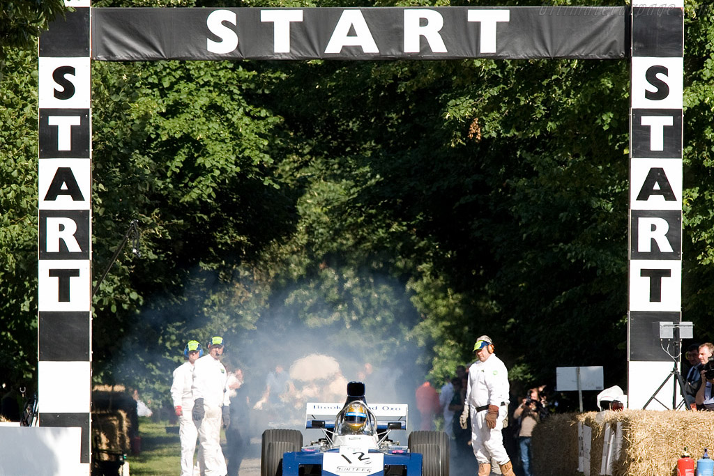 Surtees TS9B Cosworth    - 2008 Goodwood Festival of Speed
