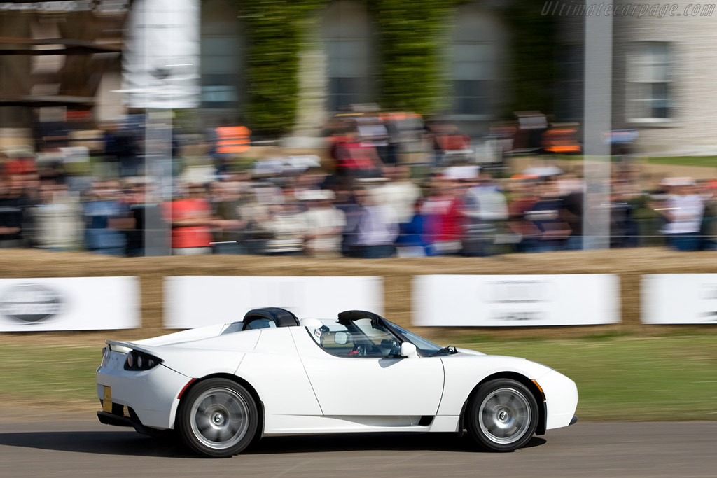 Tesla Roadster    - 2008 Goodwood Festival of Speed