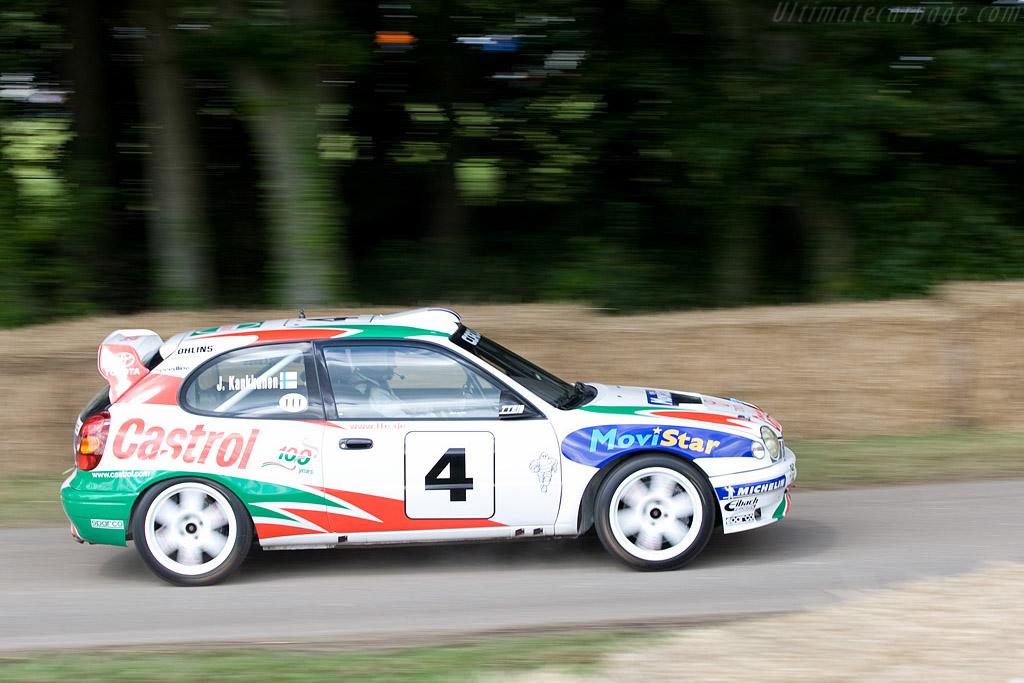 Toyota Corolla WRC - 2008 Goodwood Festival of Speed