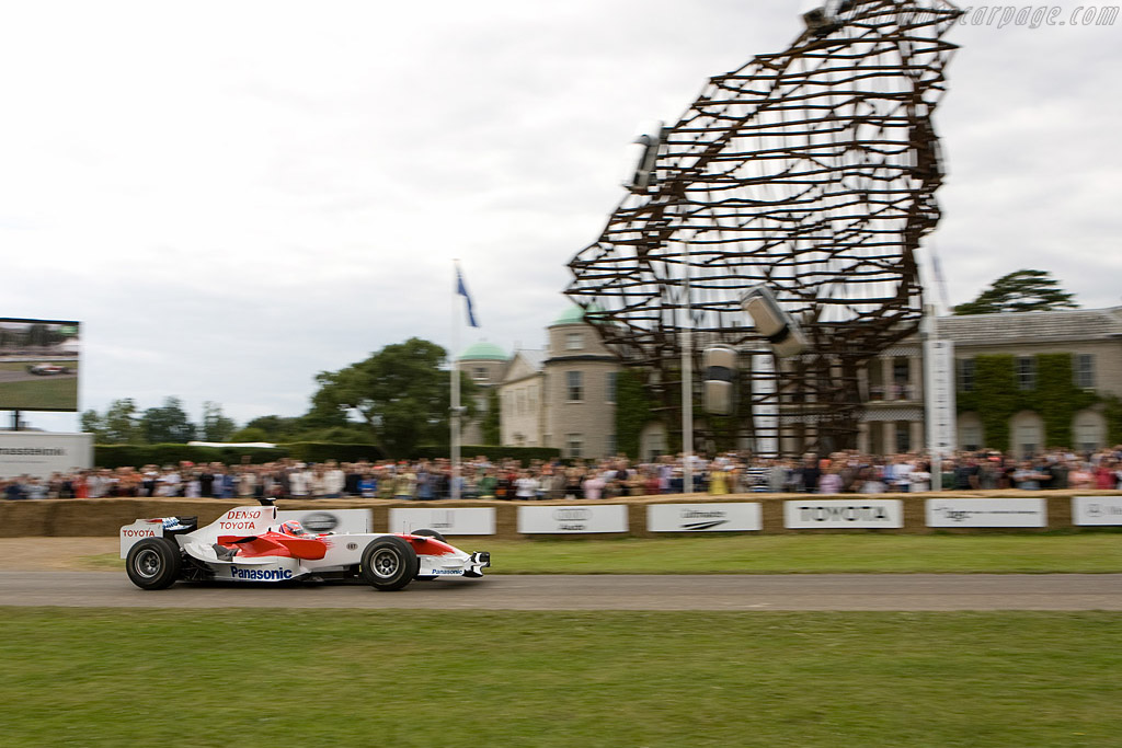 Toyota TF107    - 2008 Goodwood Festival of Speed