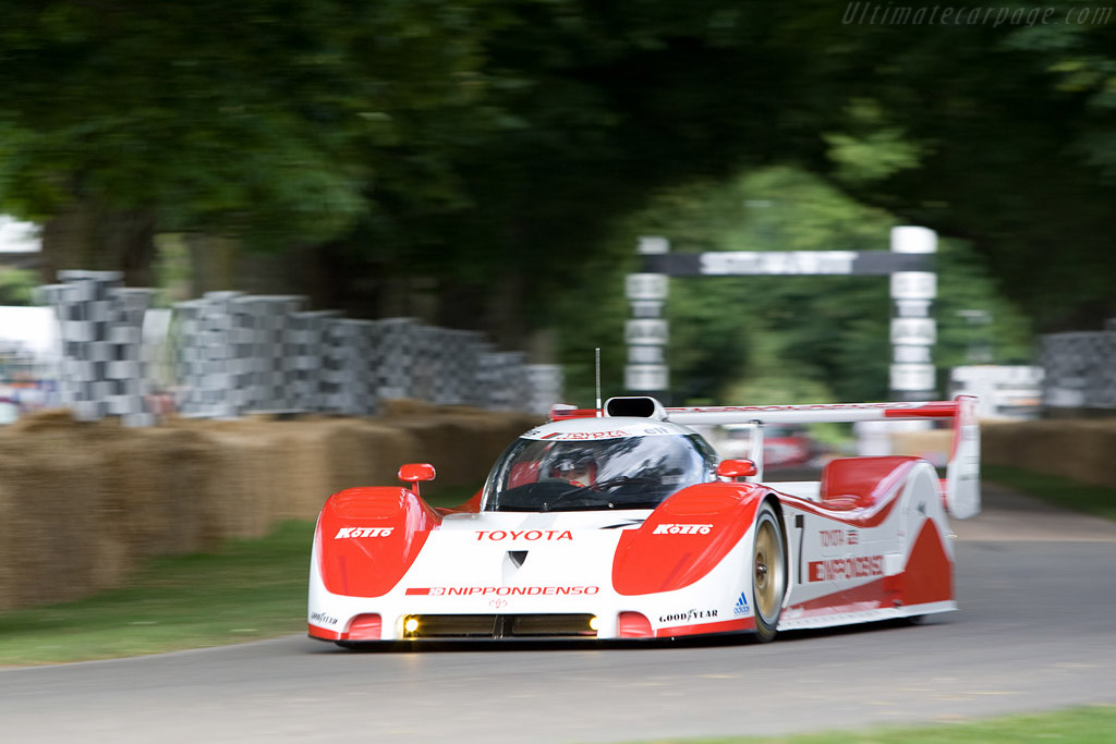 Toyota TS010 - Chassis: 004   - 2008 Goodwood Festival of Speed