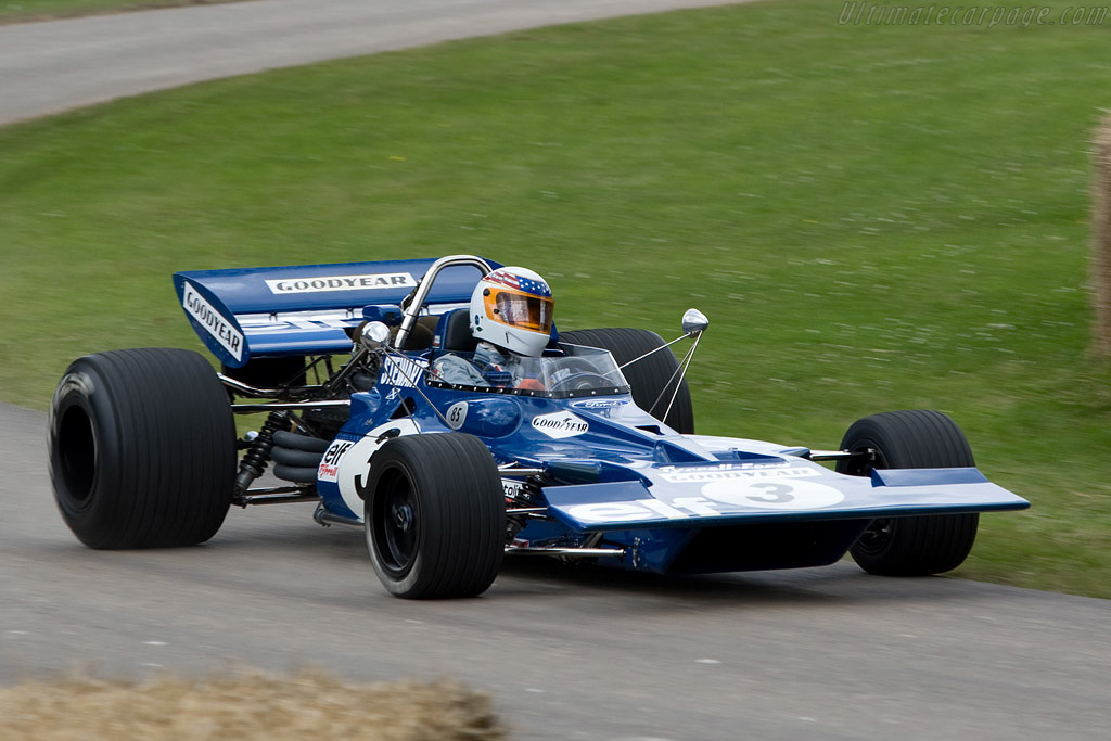 Tyrrell 001 Cosworth - Chassis: 001   - 2008 Goodwood Festival of Speed