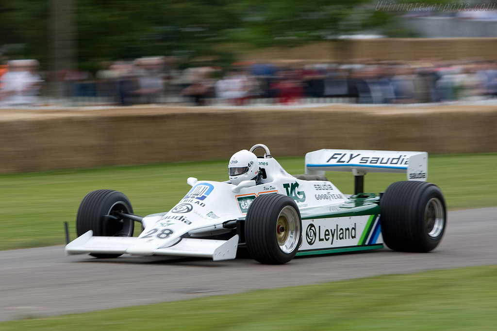 Williams FW07B Cosworth - Chassis: FW07B/07 - Driver: Peter Dunn  - 2008 Goodwood Festival of Speed