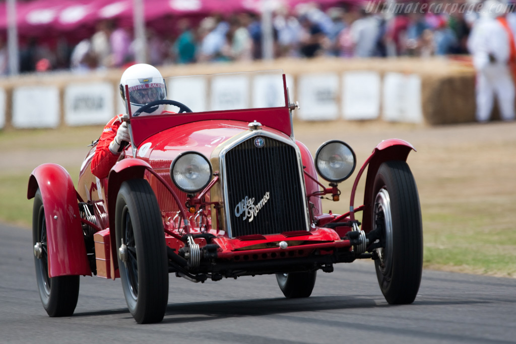 Alfa Romeo 8C 2300 Le Mans    - 2009 Goodwood Festival of Speed