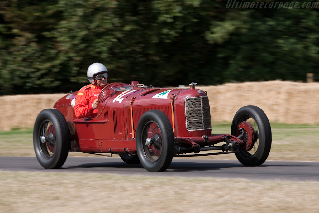 Alfa Romeo P2 - Chassis: 0003   - 2009 Goodwood Festival of Speed