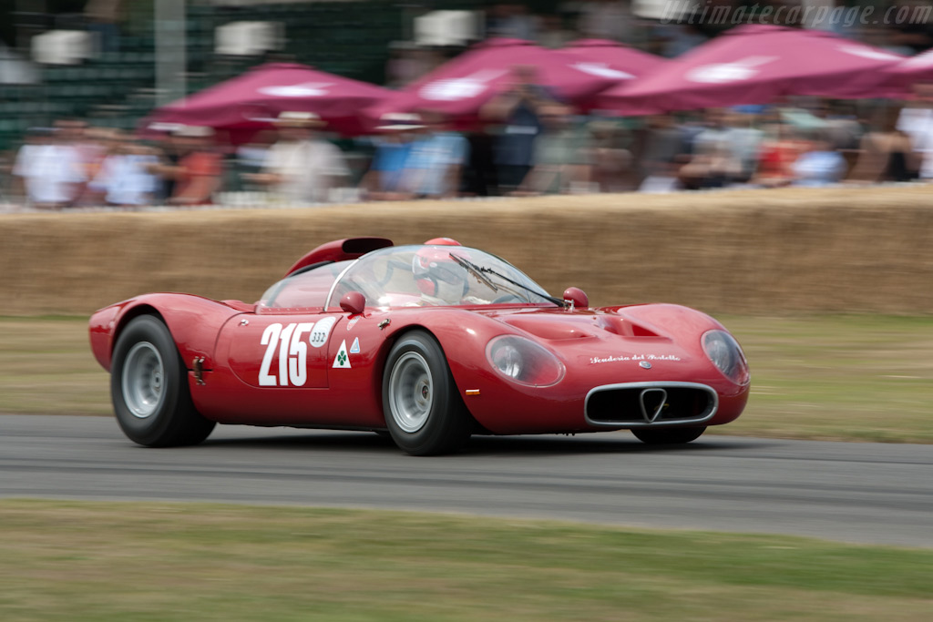 Alfa Romeo Tipo 33/2 - Chassis: 75033.001   - 2009 Goodwood Festival of Speed