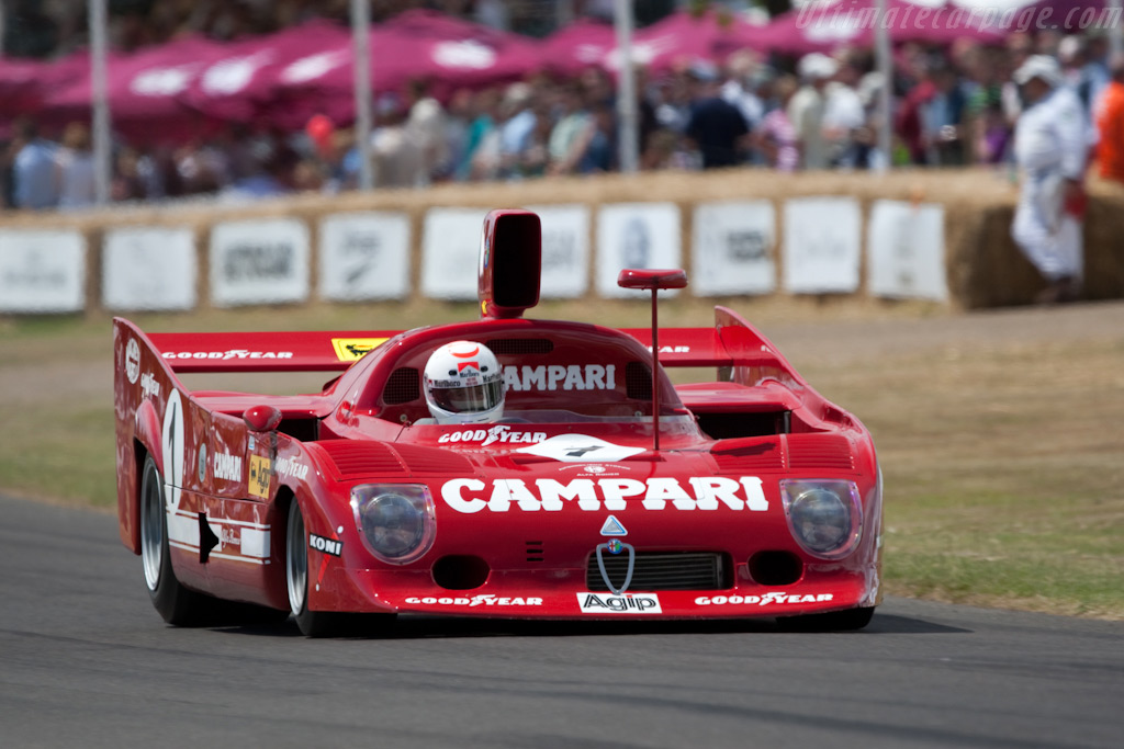 Alfa Romeo Tipo 33TT12 - Chassis: AR 11512-006   - 2009 Goodwood Festival of Speed