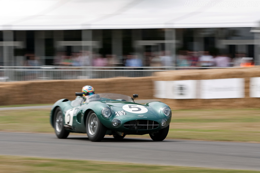 Aston Martin DBR1 - Chassis: DBR1/2 - Entrant: Harry Leventis - Driver: Peter Hardman  - 2009 Goodwood Festival of Speed