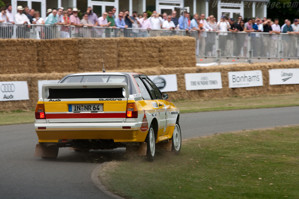 Audi Quattro A2 - Chassis: 85ZEA900008   - 2009 Goodwood Festival of Speed