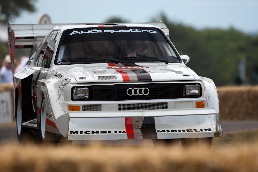 Audi Sport Quattro S1 'Pikes Peak'    - 2009 Goodwood Festival of Speed