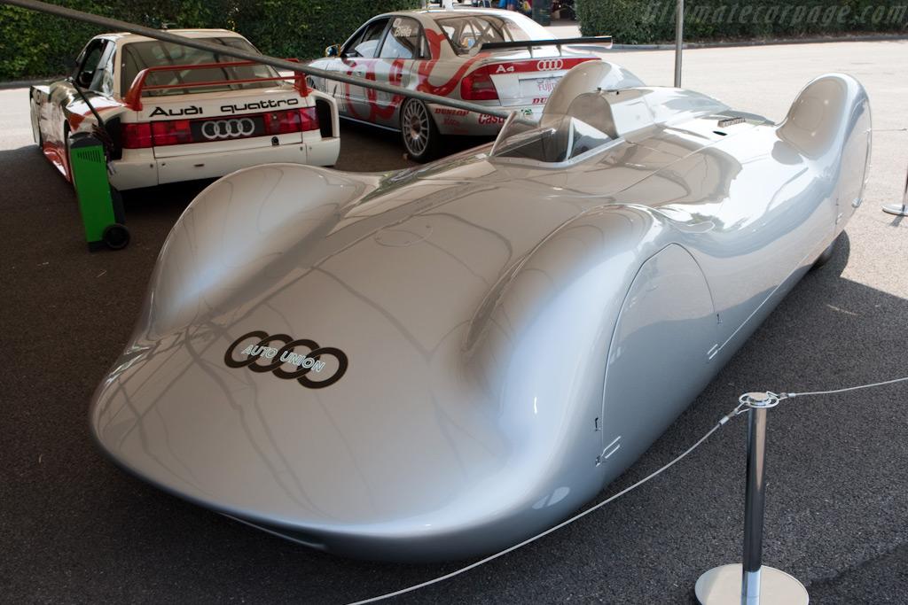 Auto Union Type C 'Streamliner'    - 2009 Goodwood Festival of Speed