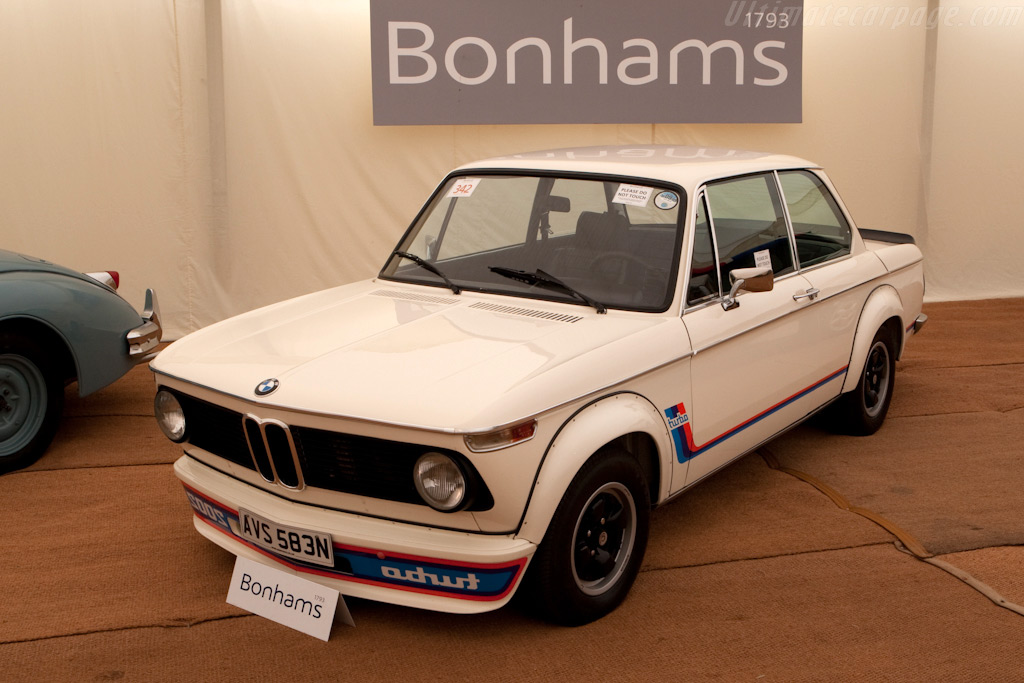 BMW 2002 Turbo - Chassis: 4290386   - 2009 Goodwood Festival of Speed