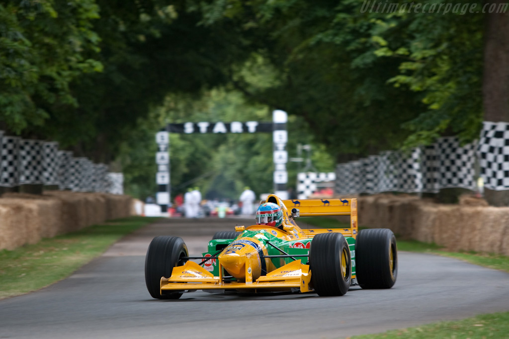 Benetton B193 Ford - Chassis: B193B-04  - 2009 Goodwood Festival of Speed