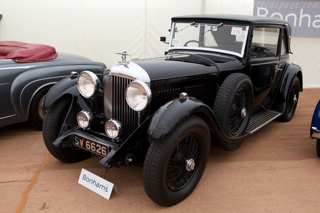 Bentley 4-Litre Coupe - Chassis: VF4018   - 2009 Goodwood Festival of Speed
