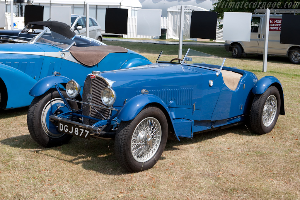Bugatti Type 57 S Corsica Roadster    - 2009 Goodwood Festival of Speed