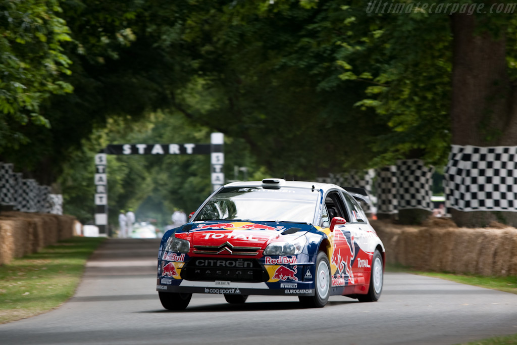 Citroën C4 WRC    - 2009 Goodwood Festival of Speed