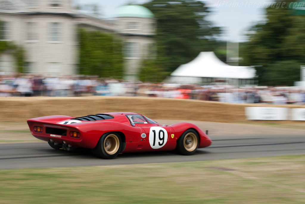 Ferrari 312 P - Chassis: 0872   - 2009 Goodwood Festival of Speed