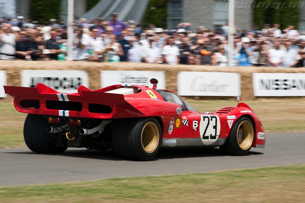 Ferrari 512 S - Chassis: 1006 - Driver: Shaun Lynn  - 2009 Goodwood Festival of Speed