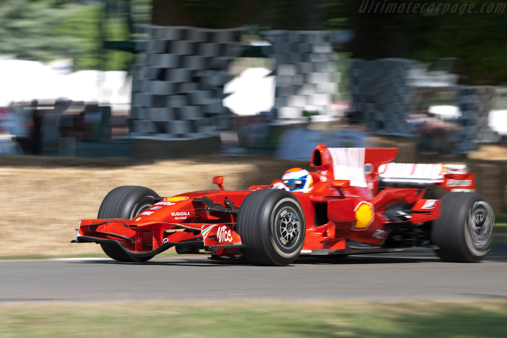 Ferrari F2008    - 2009 Goodwood Festival of Speed