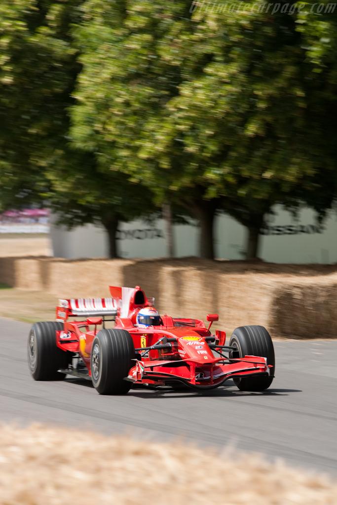Ferrari F2008    - 2009 Goodwood Festival of Speed