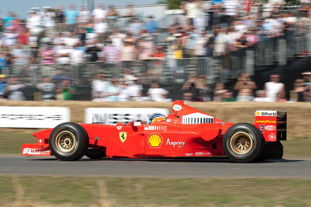 Ferrari F300 - Chassis: 183   - 2009 Goodwood Festival of Speed